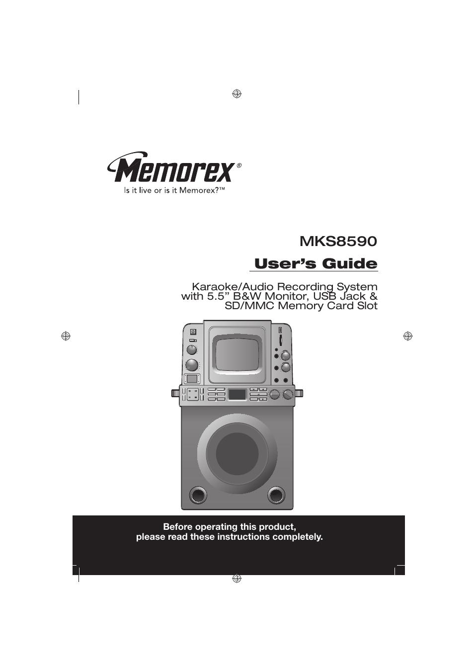 memorex mks8590 user manual 23 pages rh manualsdir com Sanyo Camera Manuals Samsung Camera Manual