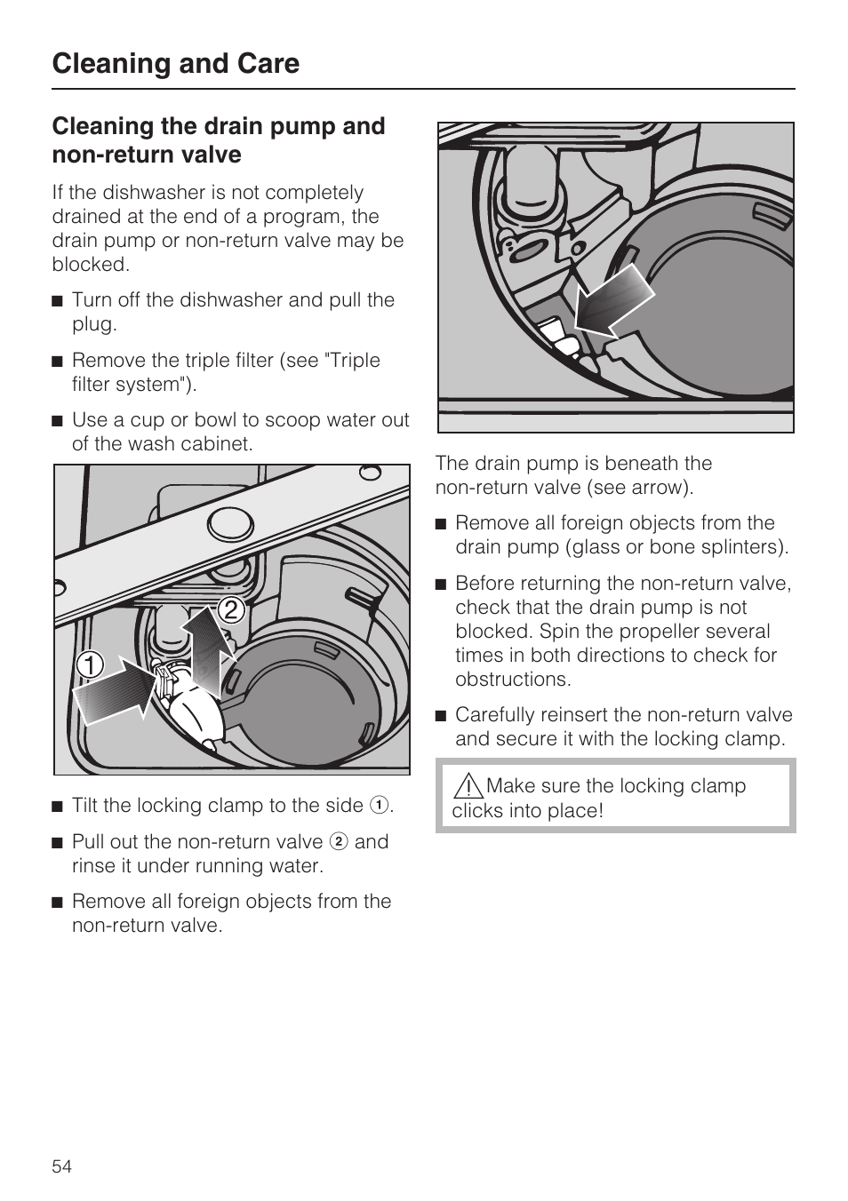 how to clean out dishwasher drain