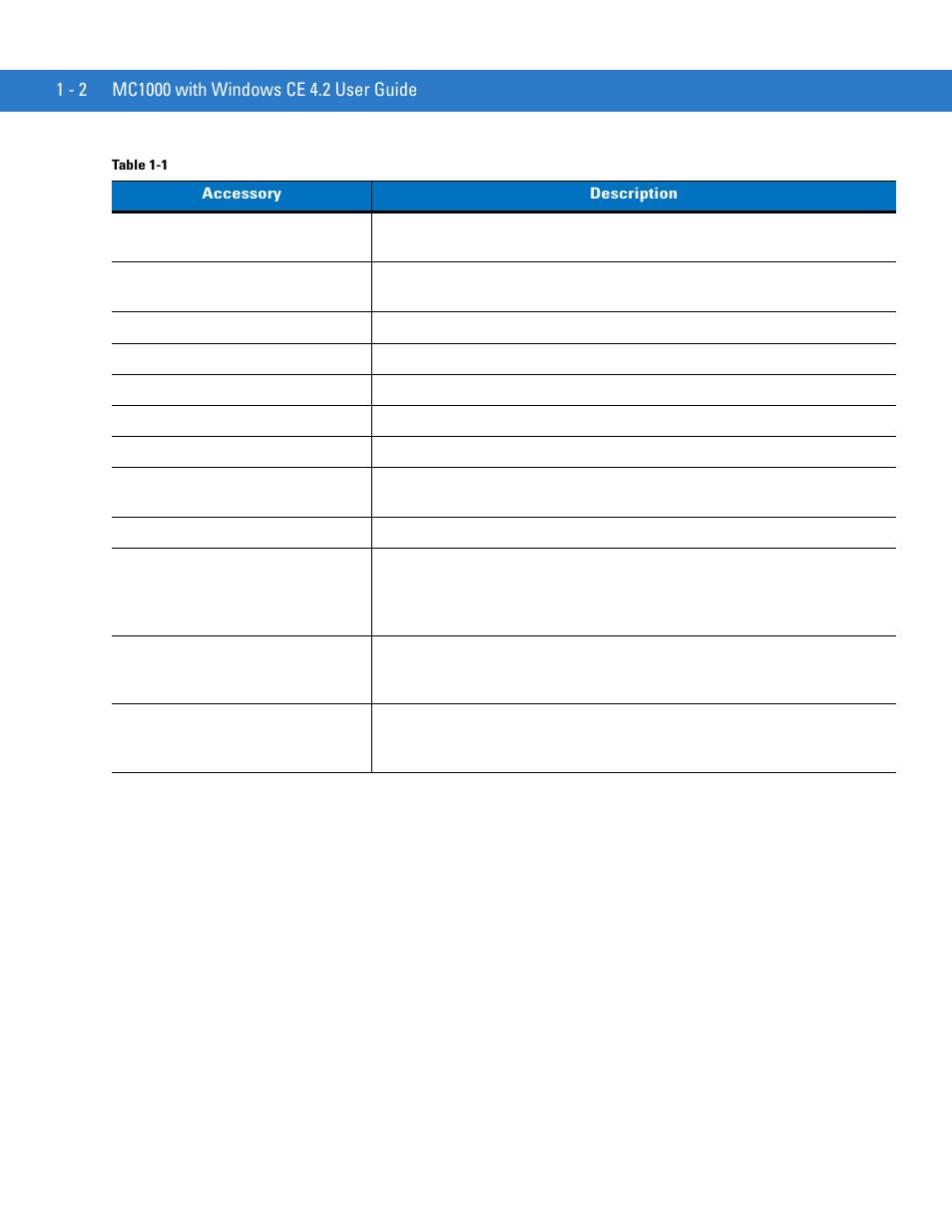 Motorola MC1000 User Manual | Page 14 / 70