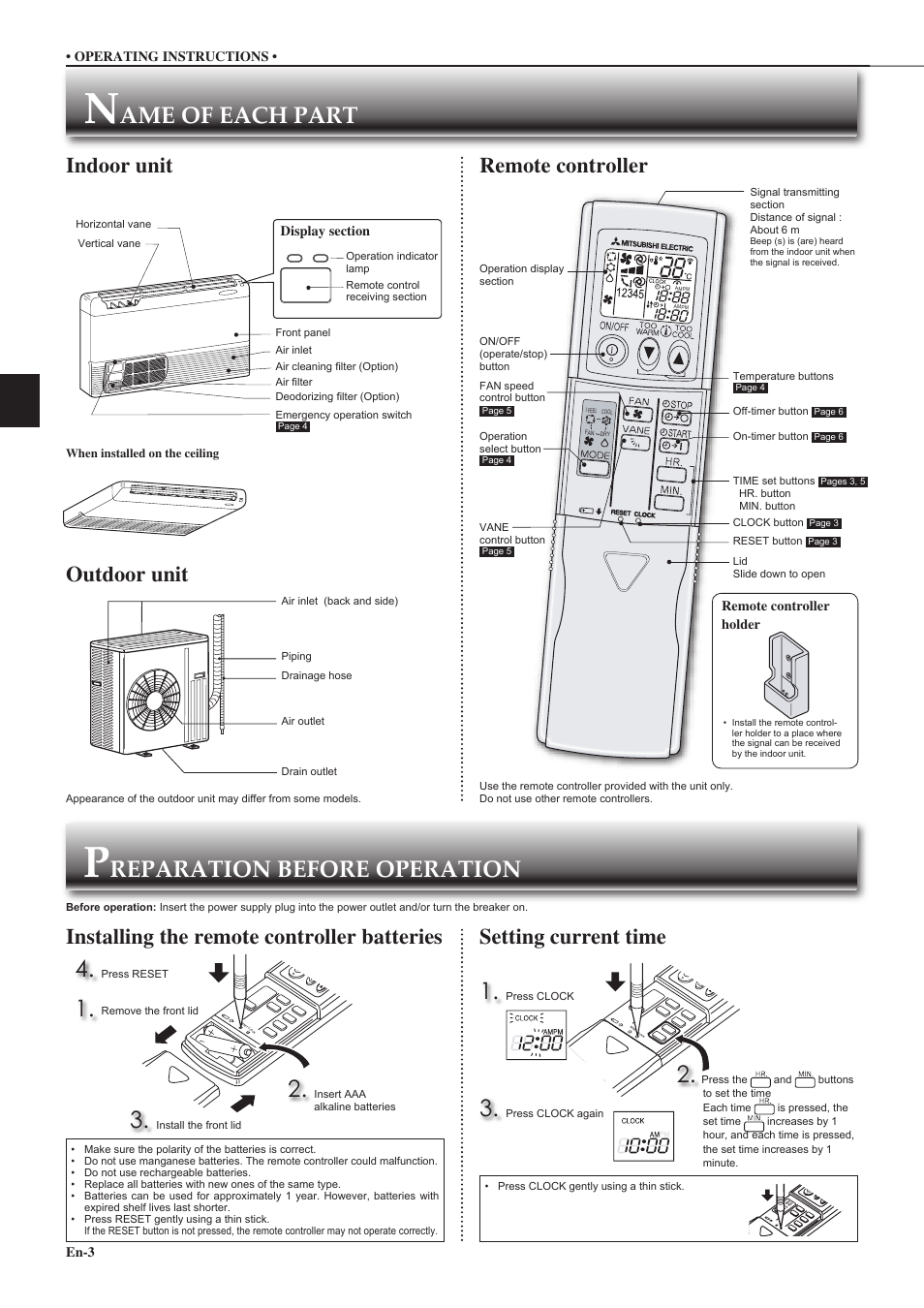 Mitsubishi Electric Air Conditioners Mr Slim Manual Manual Guide