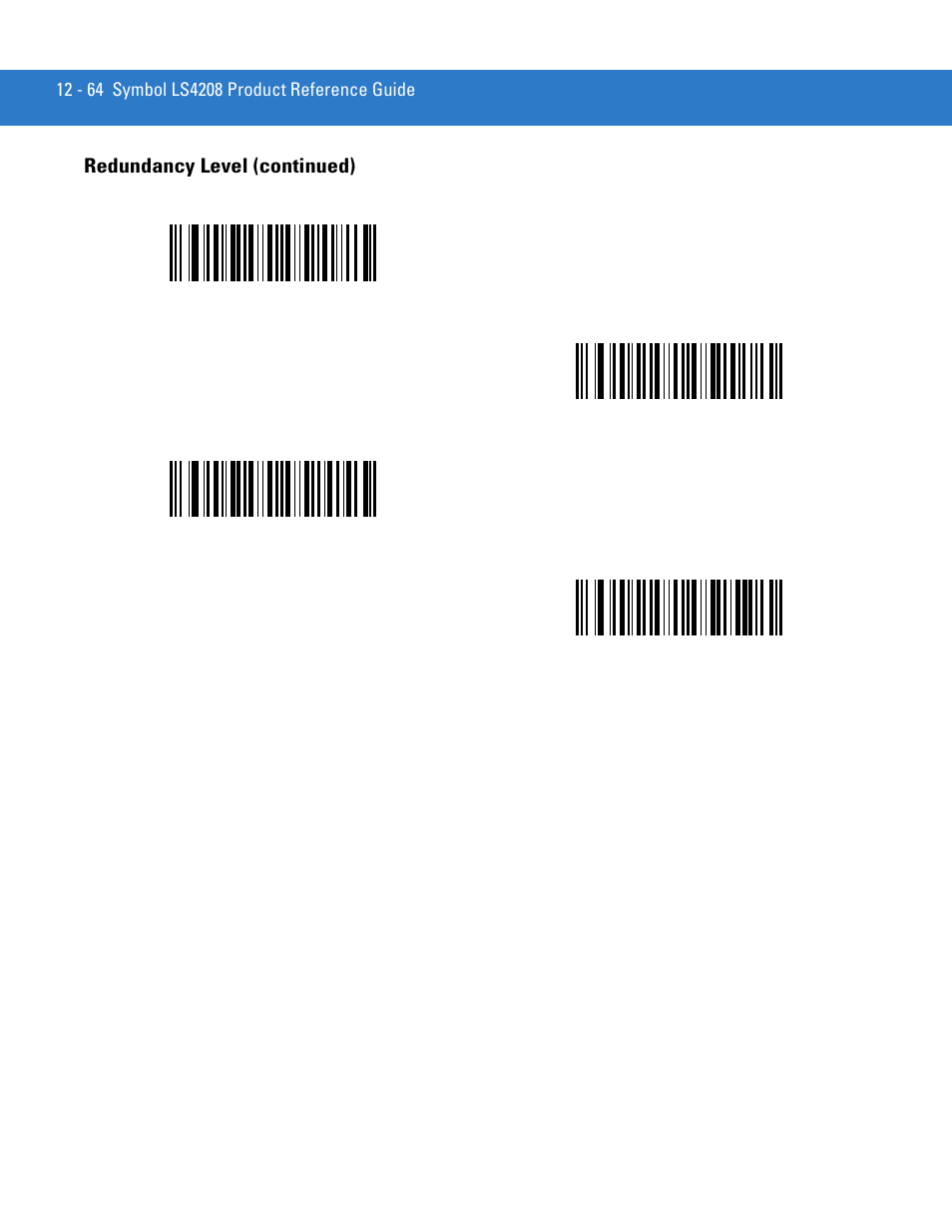 redundancy level continued motorola ls4208 user manual page rh manualsdir com Symbol LS3578 Symbol MC70