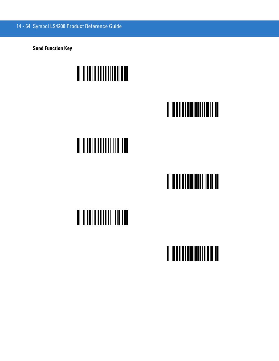 send function key send function key 64 motorola ls4208 user rh manualsdir com Symbol LS3578 symbol ls4208 product reference guide