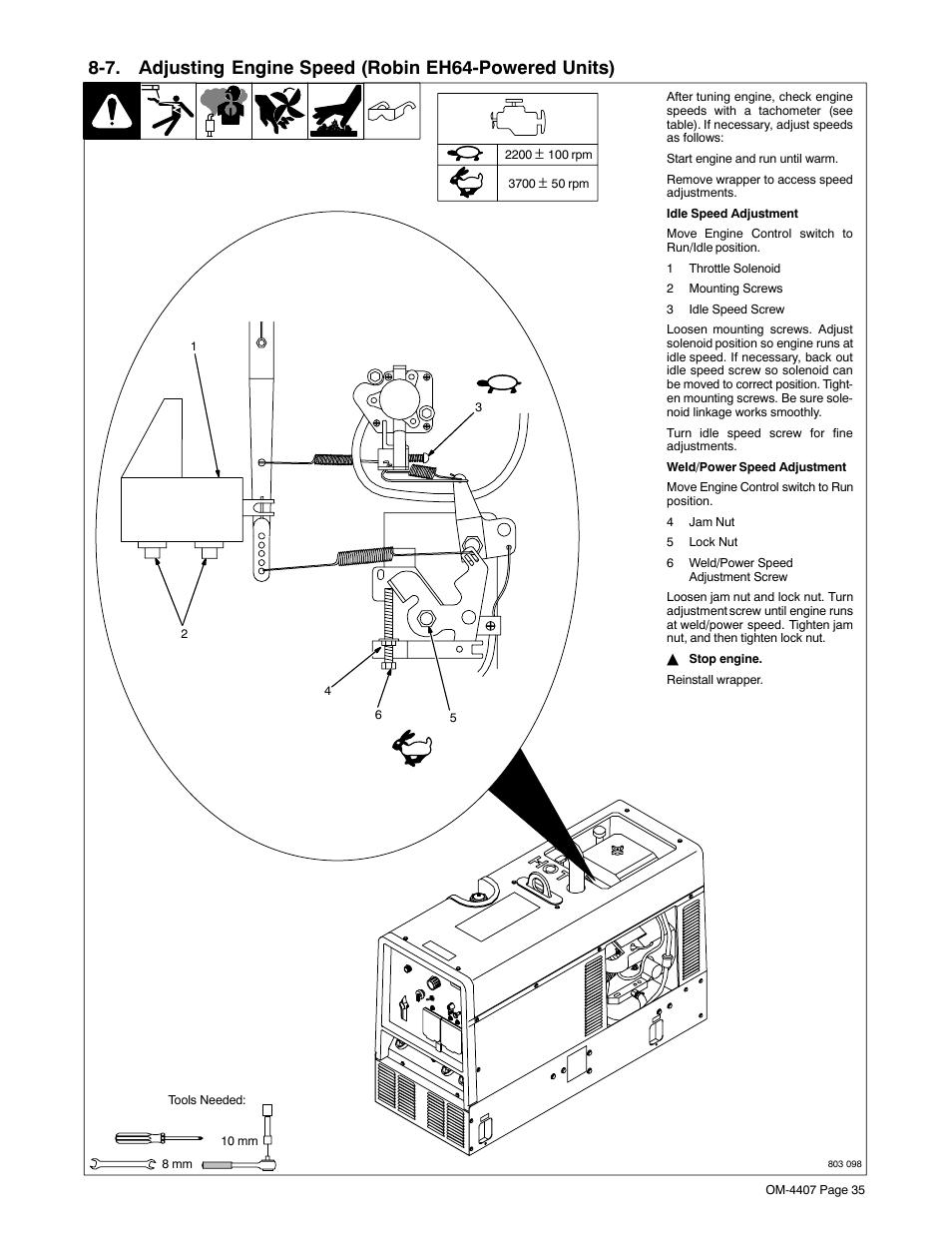 Miller Electric Trailblazer Dc User Manual