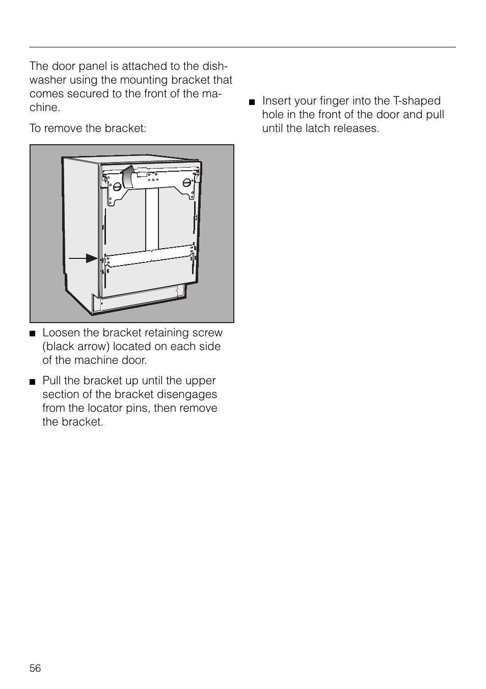 dishwasher installation miele g 879 scvi user manual page 56 rh manualsdir com Miele Dishwasher Model Number La Perla Miele Dishwasher Model Number La Perla