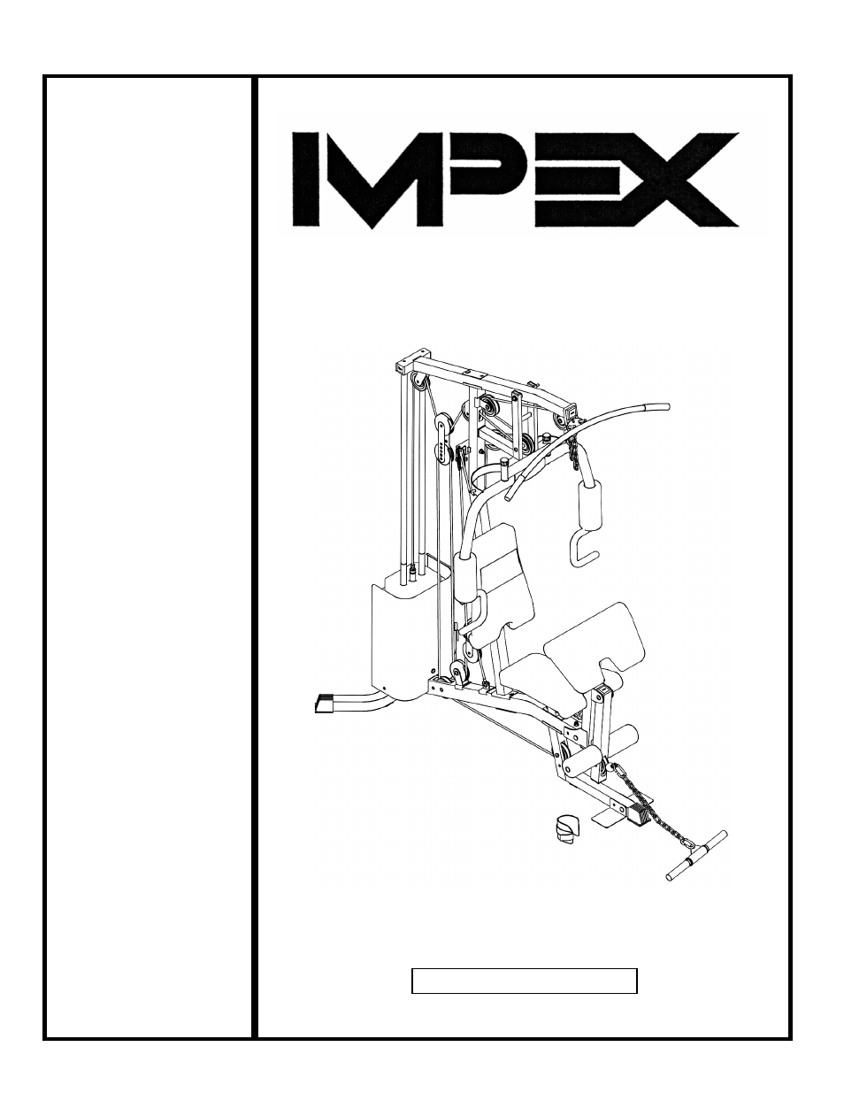 Impex wm user manual pages