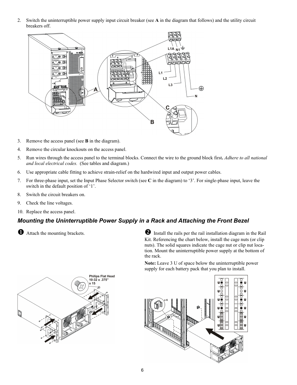 IBM Uninterruptible Power Supply IBM UPS 7500XHV User Manual | Page 10 / 29