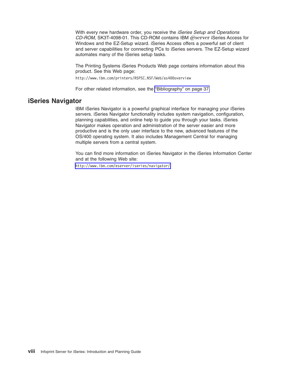 Iseries navigator | IBM G544-5774-01 User Manual | Page 10 / 56