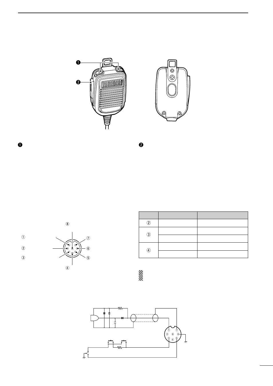 Icom Ic Page on I Hm 36 Microphone Schematic