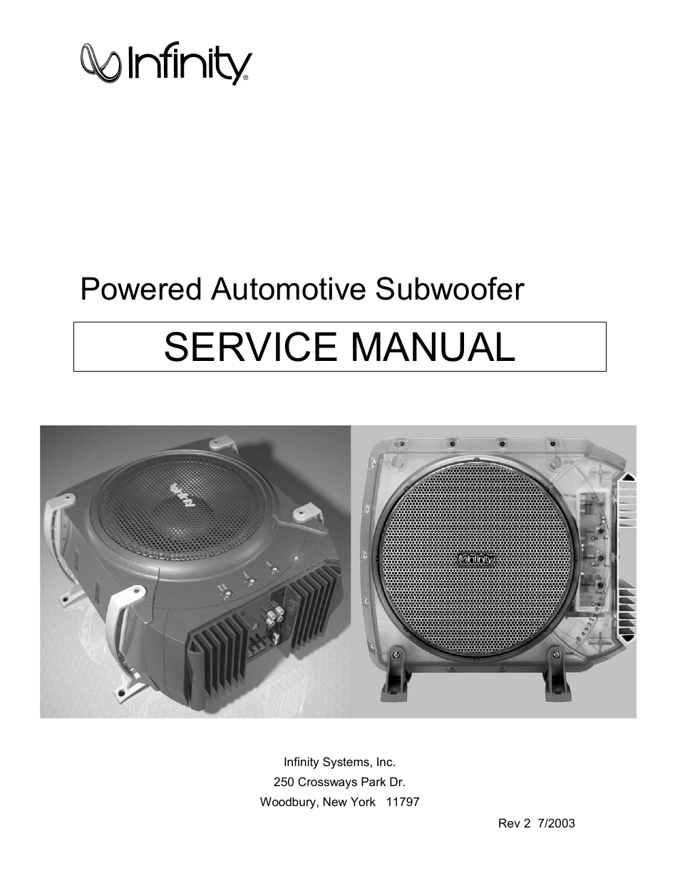 infinity bass link user manual 56 pages rh manualsdir com infinity basslink t service manual infinity basslink sm manual