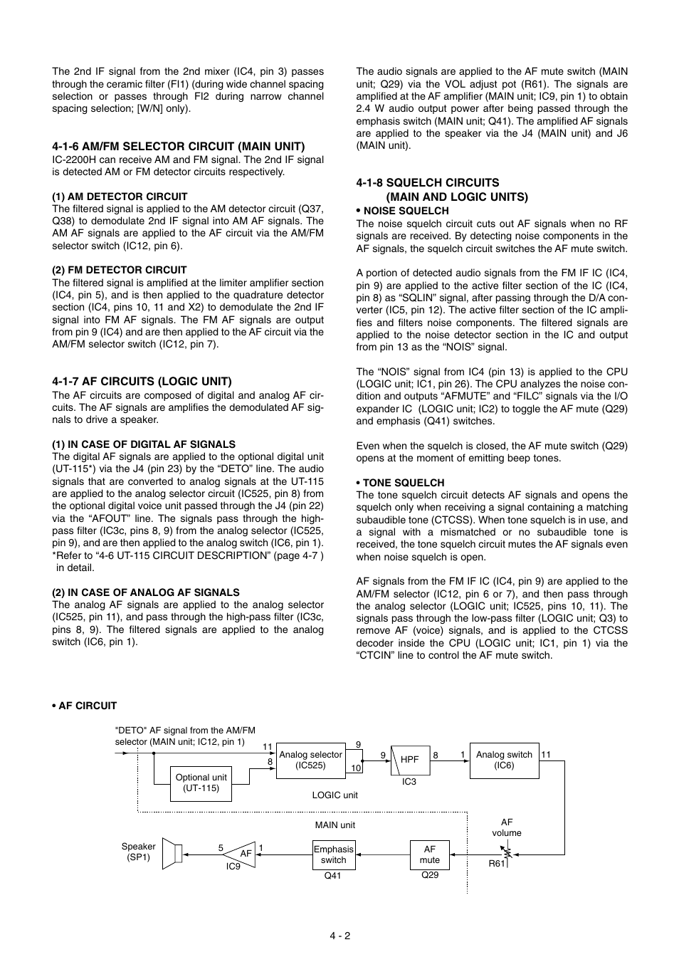 Icom IC-2200H User Manual | Page 10 / 54