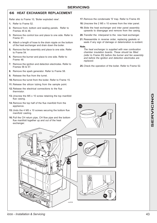 Boiler manuals: ideal icos he15.