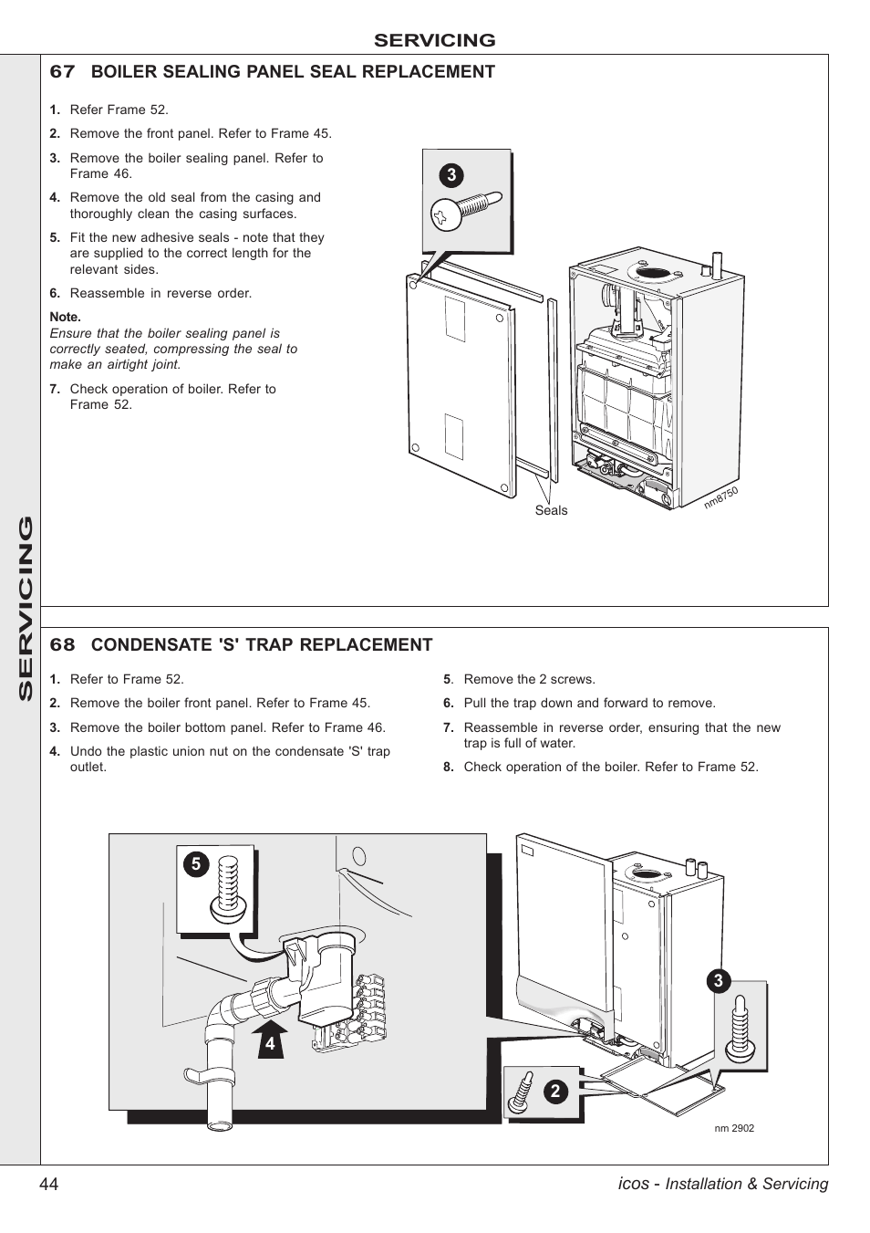 Boiler Installation Ideal Icos Manual Industrial Gas Wiring Diagram Images Of