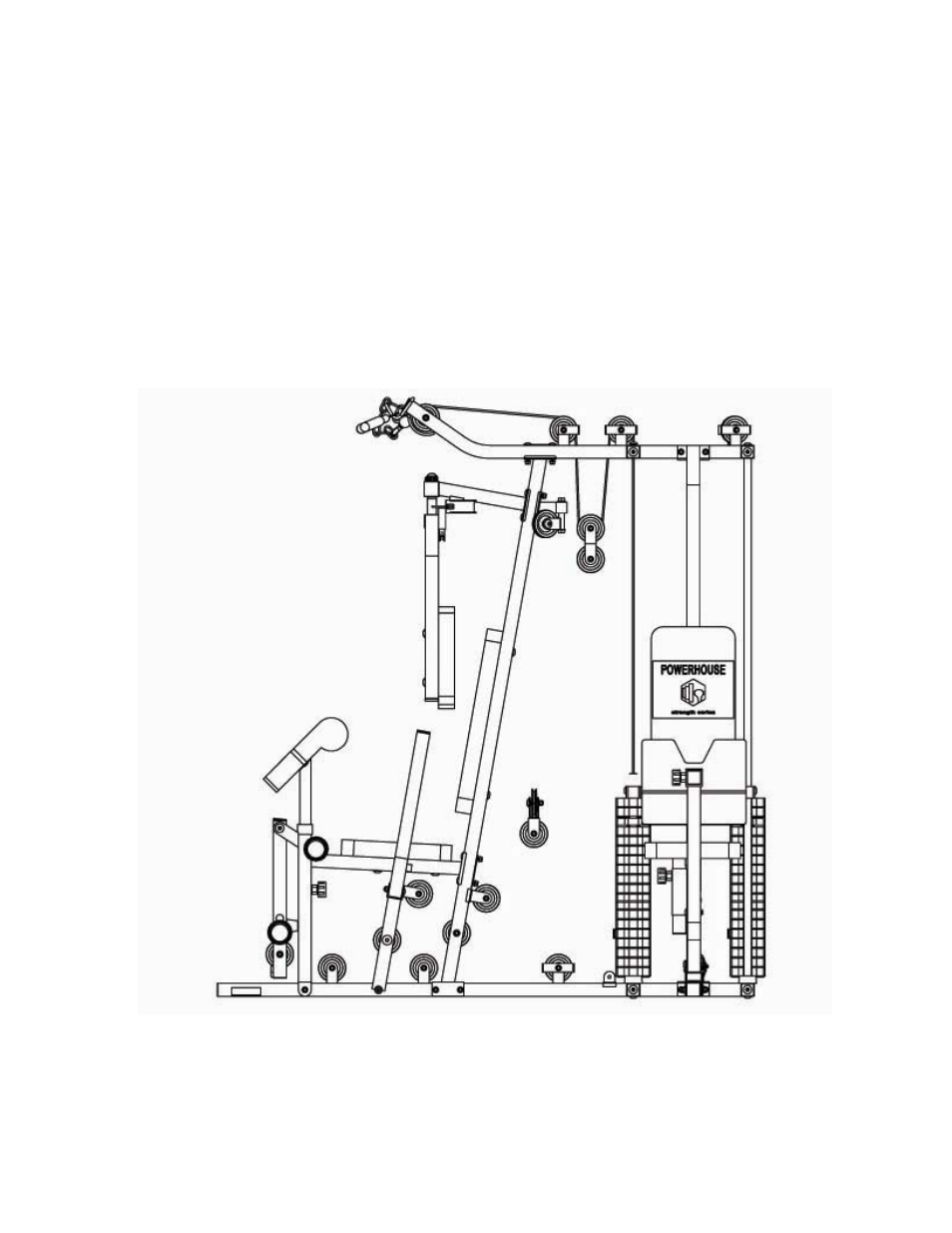 Upper cable loop diagram | Impex GS-9 User Manual | Page 14 / 31