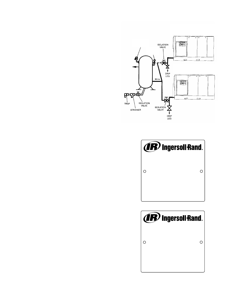 4 electrical installation | Ingersoll-Rand 100-200 HP/75-160 KW User Manual  | Page 13 / 93