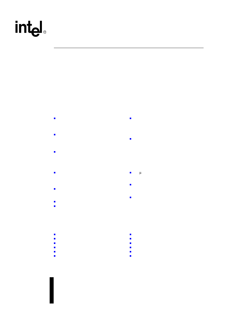 Intel IXF1104 User Manual | 231 pages