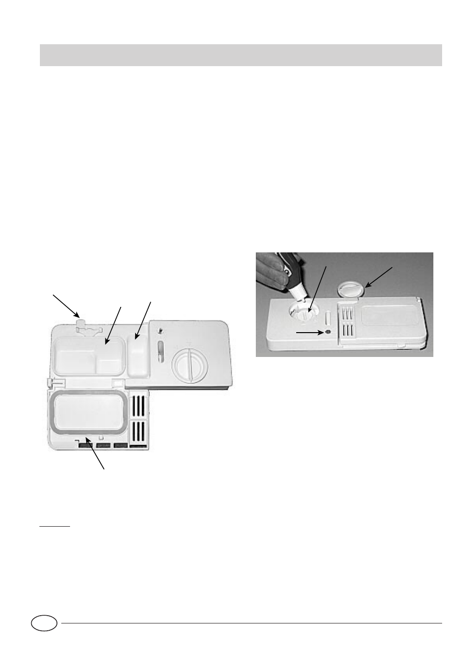 Detergent And Rinse Aid Indesit Di 620 User Manual Page 6 16 Original Mode