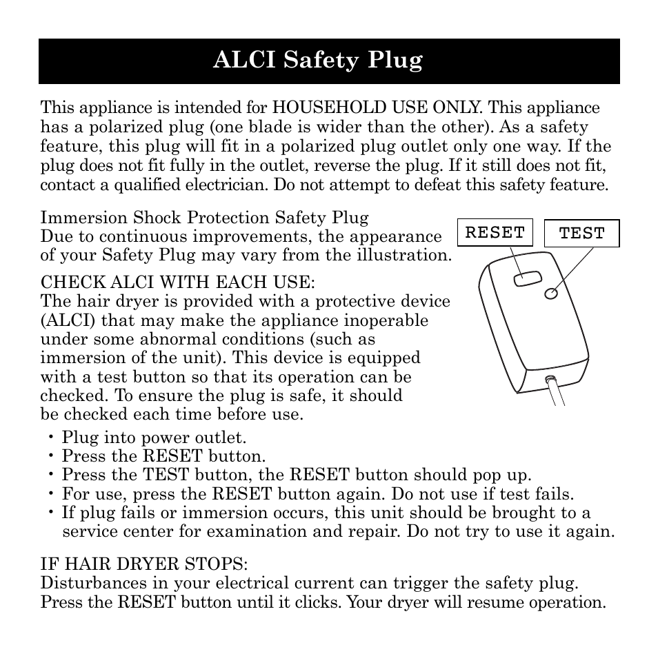 alci safety plug ionic pro si749 user manual page 5 11 rh manualsdir com ionic pro manual pdf ionic pro instructions