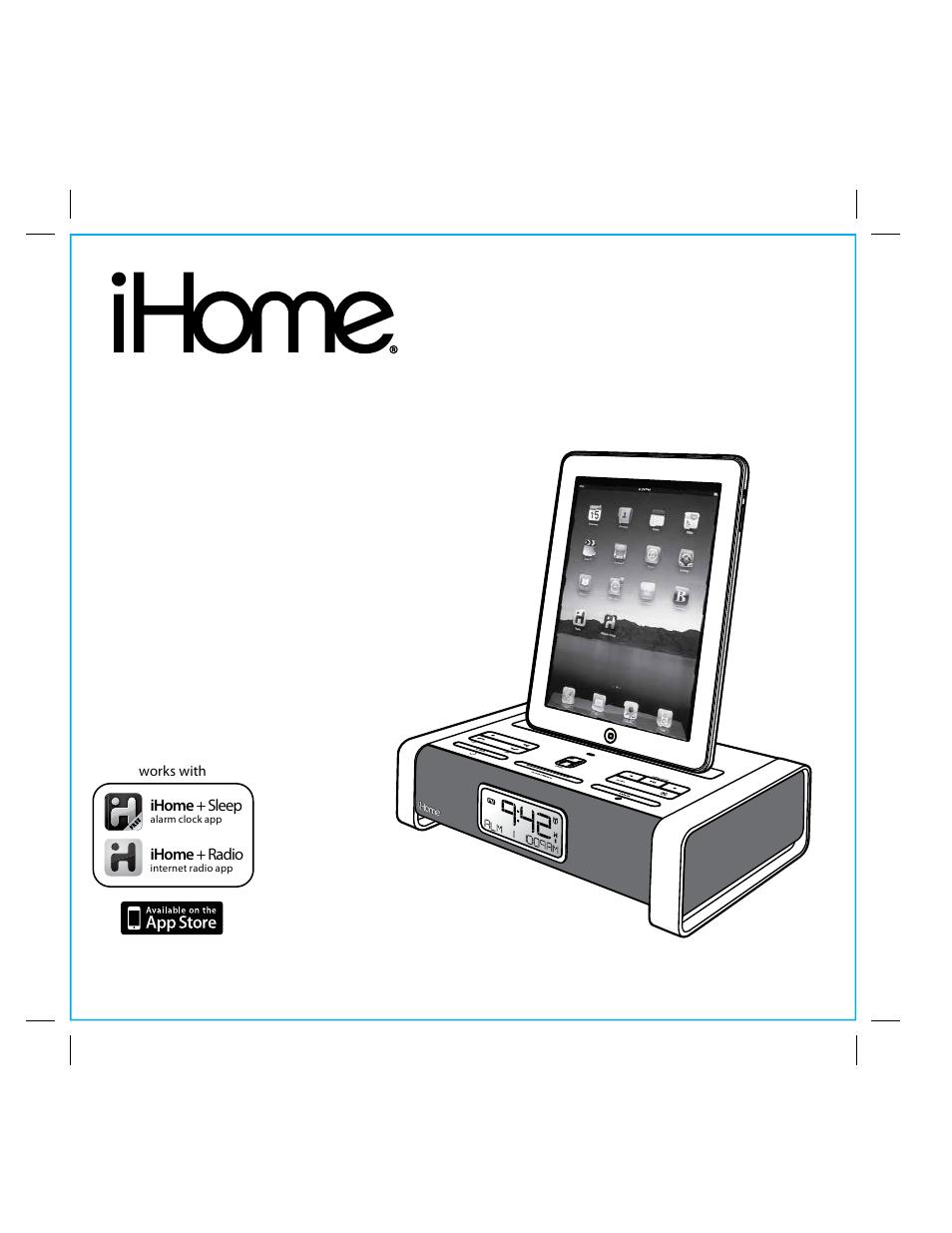 ihome ia100 user manual 17 pages rh manualsdir com iHome Mouse Manual iHome Audio