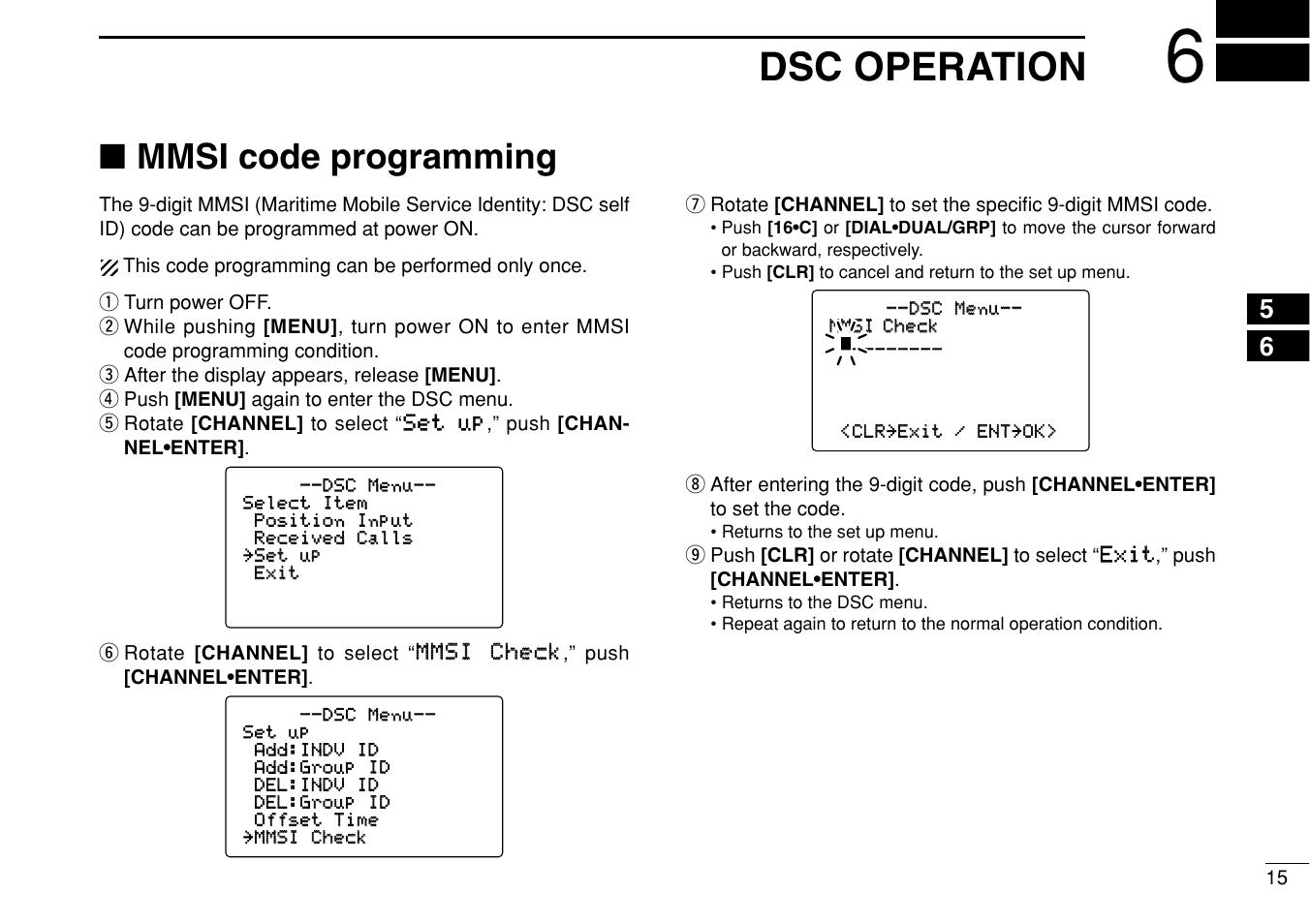 dsc operation mmsi code programming icom ic m505 user manual rh manualsdir com icom ic-m505 instruction manual Pro M505 Mechanical Pencil