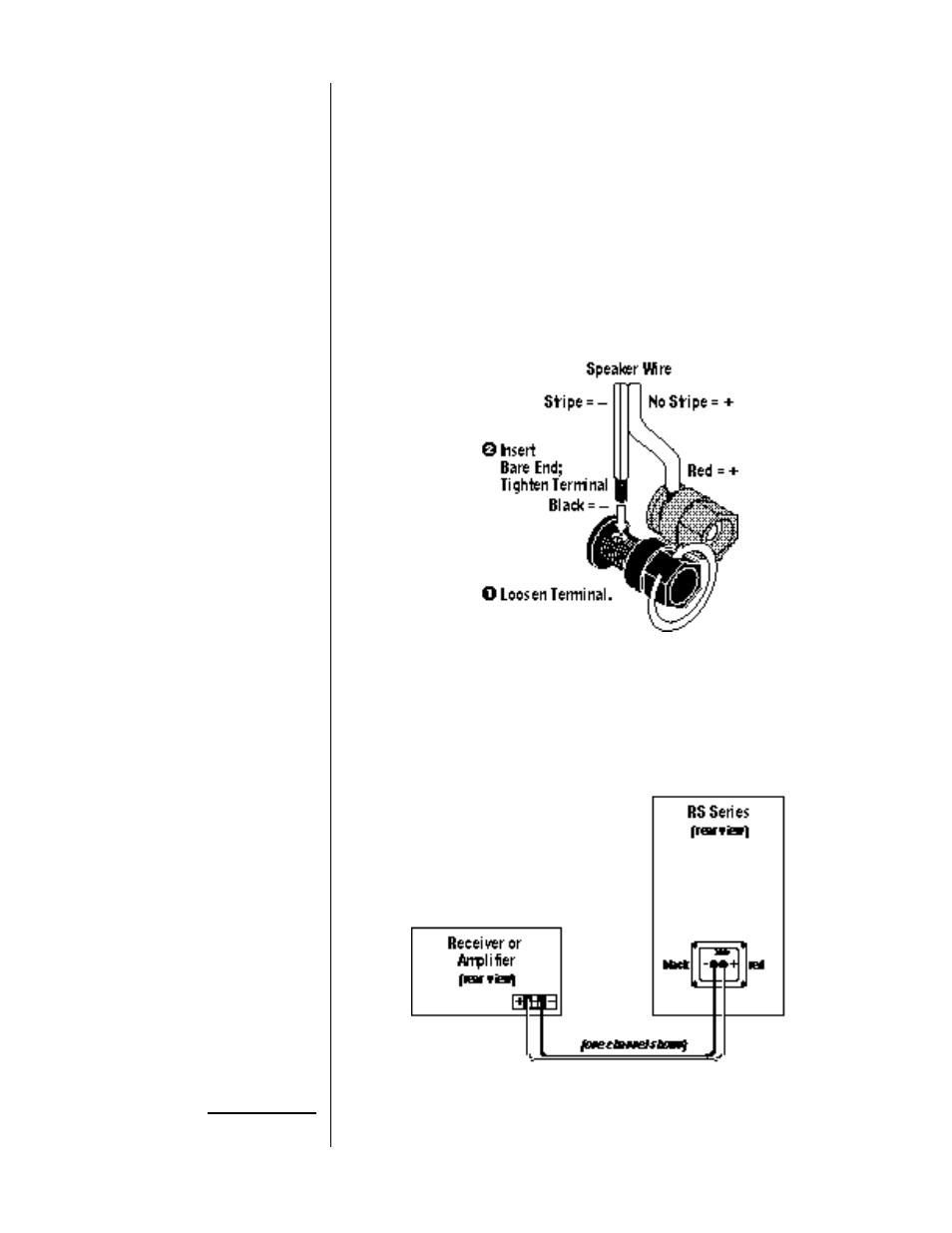 Iring Ystem Infinity Reference Standard Rs 2 User Manual Page 5 Wiring Diagram Home Theater Amplifier 1 8