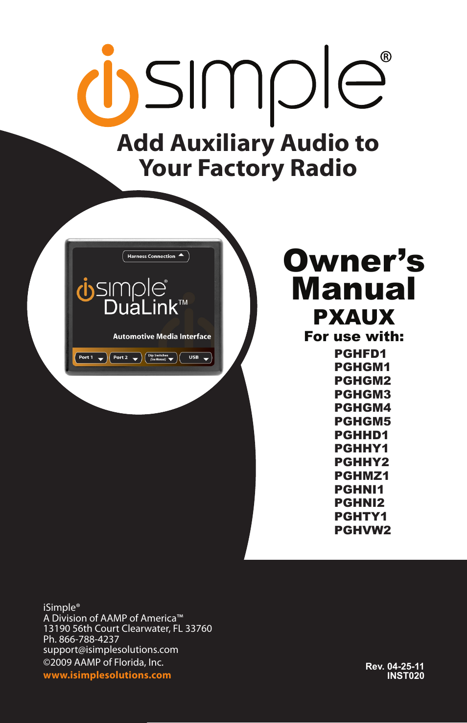 isimple dualink pghvw2 user manual 8 pages also for dualink rh manualsdir com