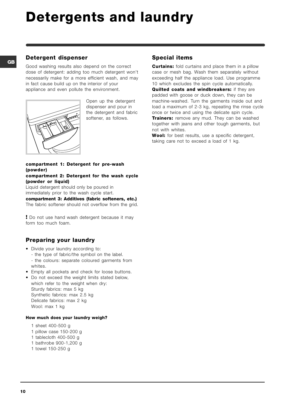 Indesit washer/dryer wia 101 instruction manual download free.