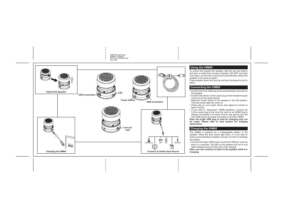 Ihome Ihm60 User Manual Page 3 4 Original Mode