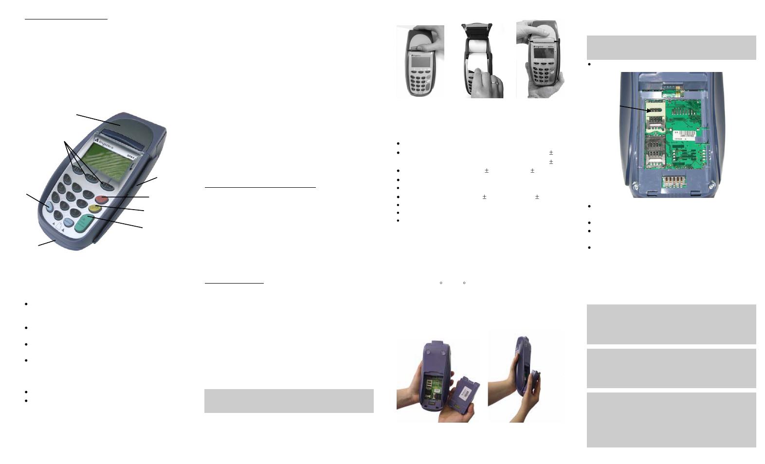 Ingenico I7910 User Manual | Page 2 / 2