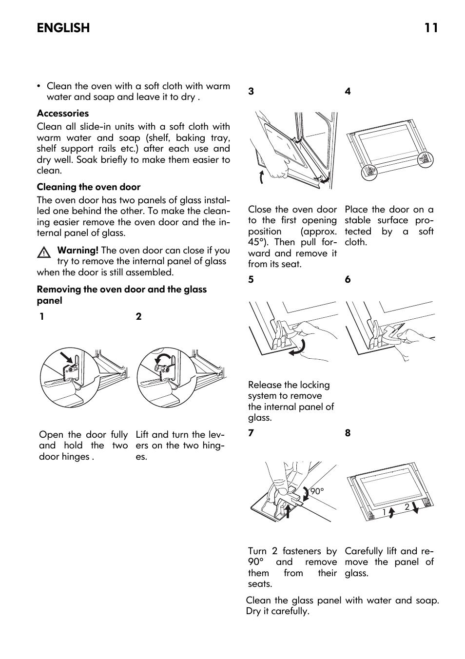 English 11 | IKEA FRAMTID OV9 User Manual | Page 11 / 20