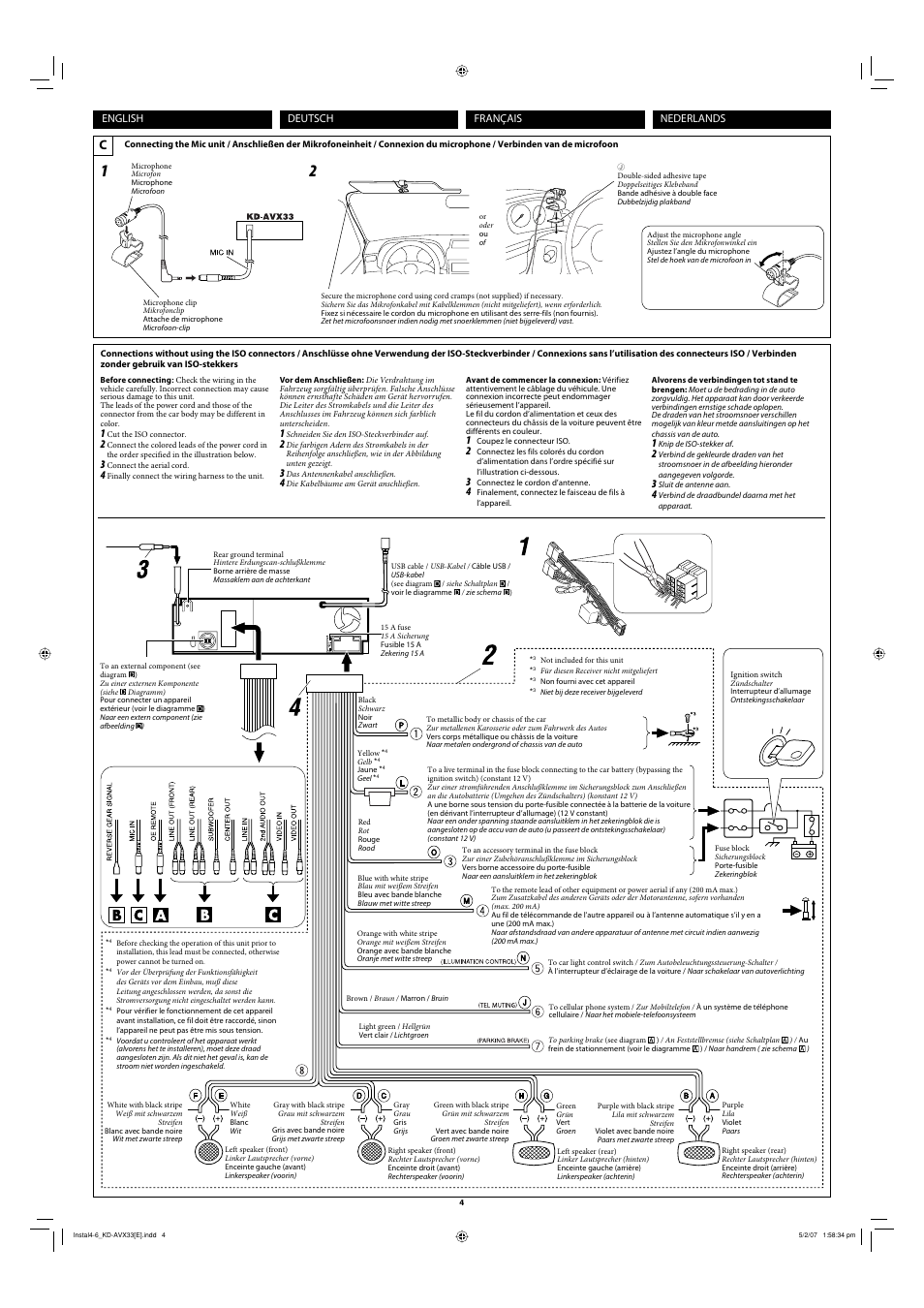 Kenwood Dpx308u Wiring Diagram Simple Guide About Harness Jvc Kd Avx33 27 Images