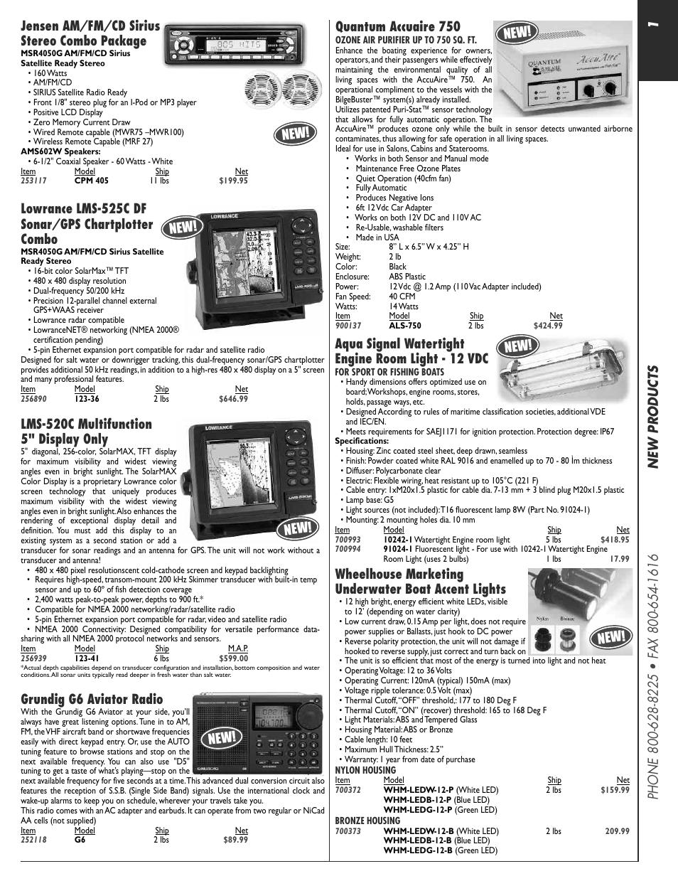 Jensen 256939 User Manual