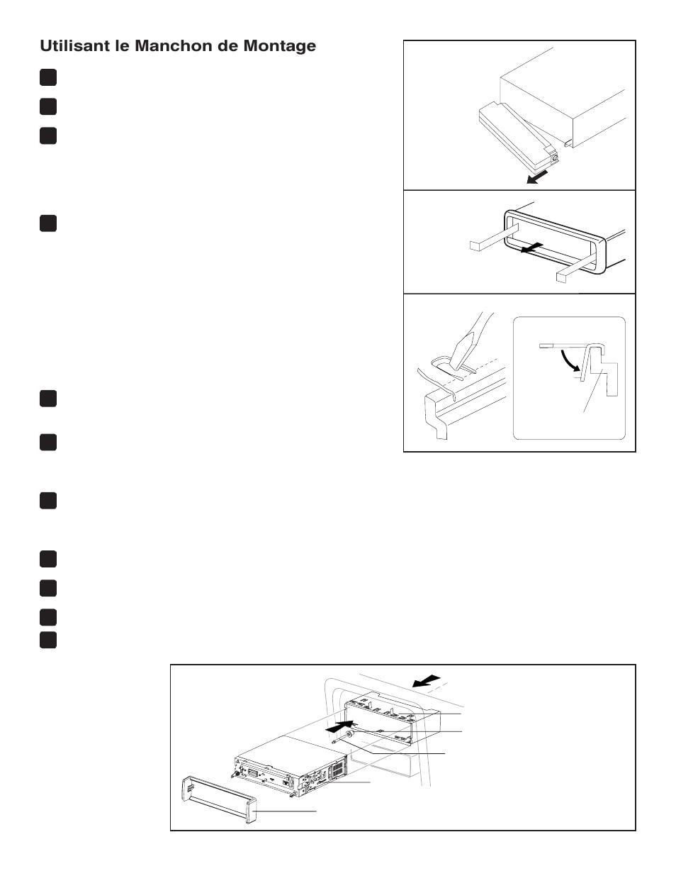 utilisant le manchon de montage jensen vm8113 user manual page rh manualsdir com Clip Art User Guide User Manual