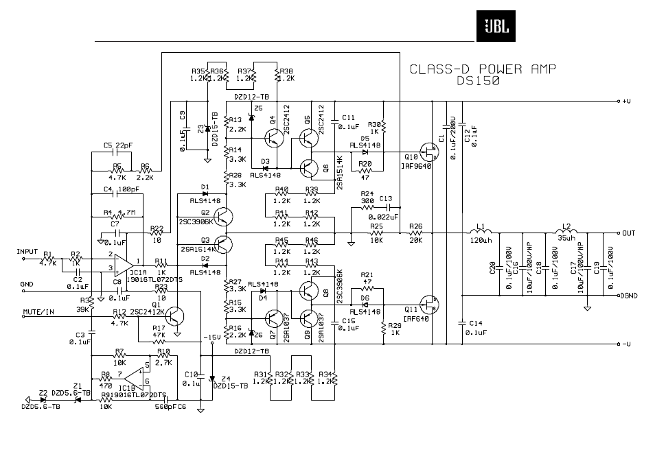 JBL SCS150SI pdf manual [Page 26/27] | Also for: SCS180.6S