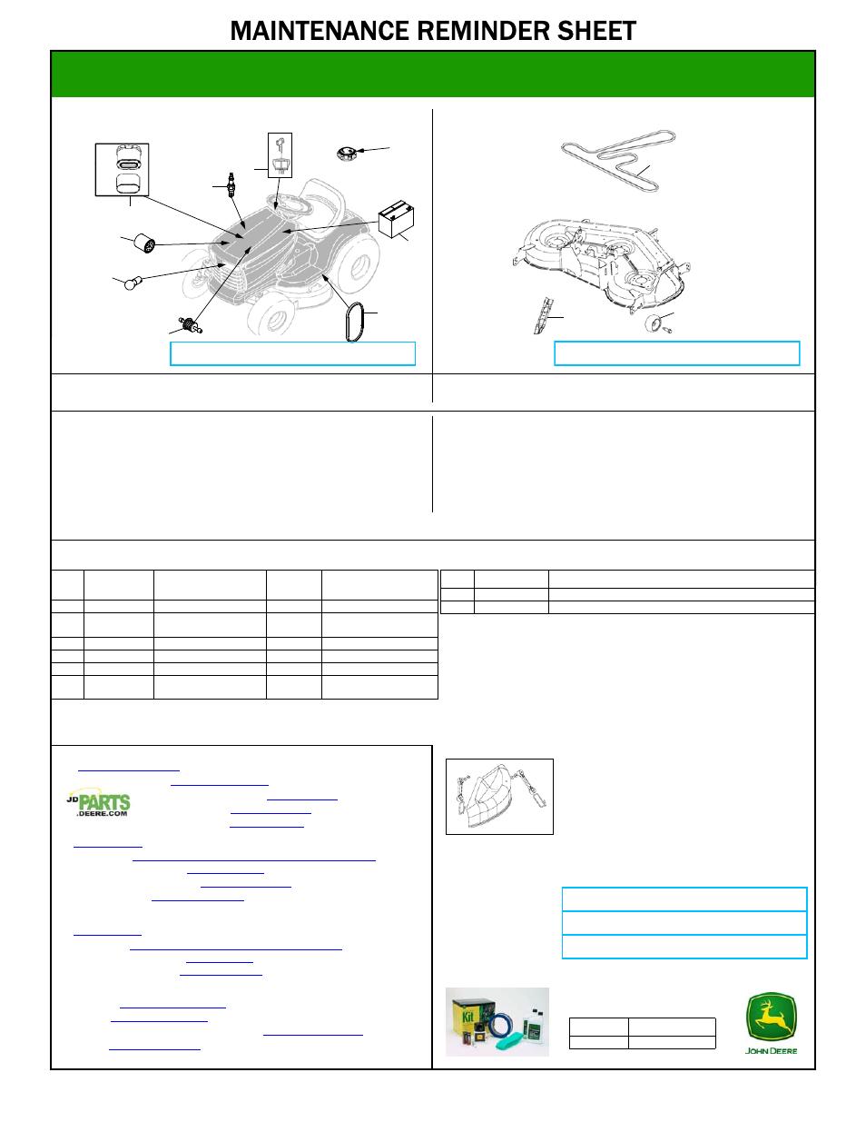 John Deere La145 User Manual 1 Page Also For La175