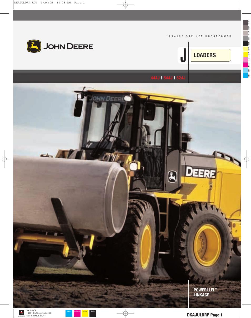 john deere 444j user manual 28 pages rh manualsdir com John Deere Operator Manual  John Deere Service Manuals