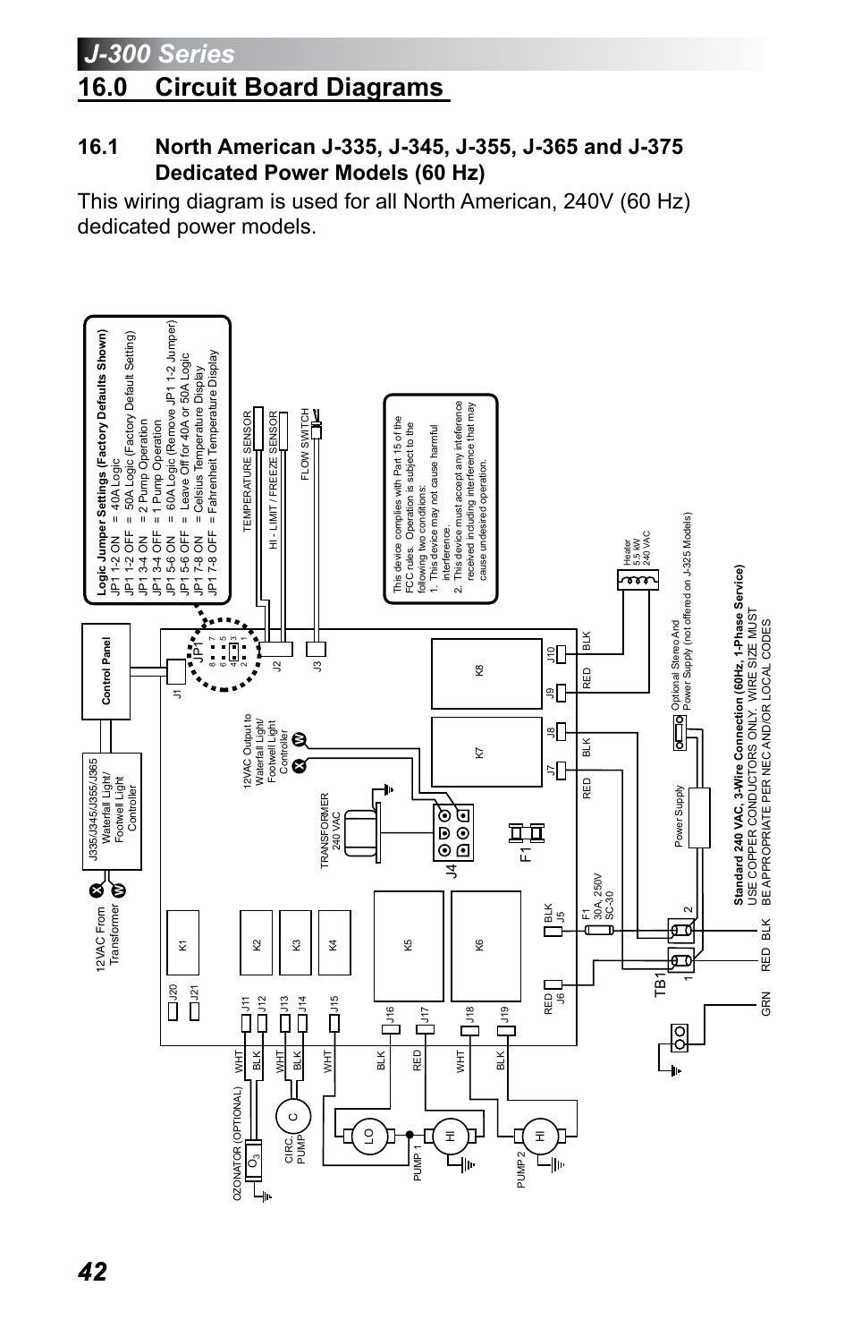 J 380 Circuit Board Wiring Diagram Diagrams Balboa 0 Dedicated Power Models 60 Hz