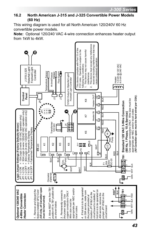 Beachcomber Hot Tub Wiring Diagram from www.manualsdir.com