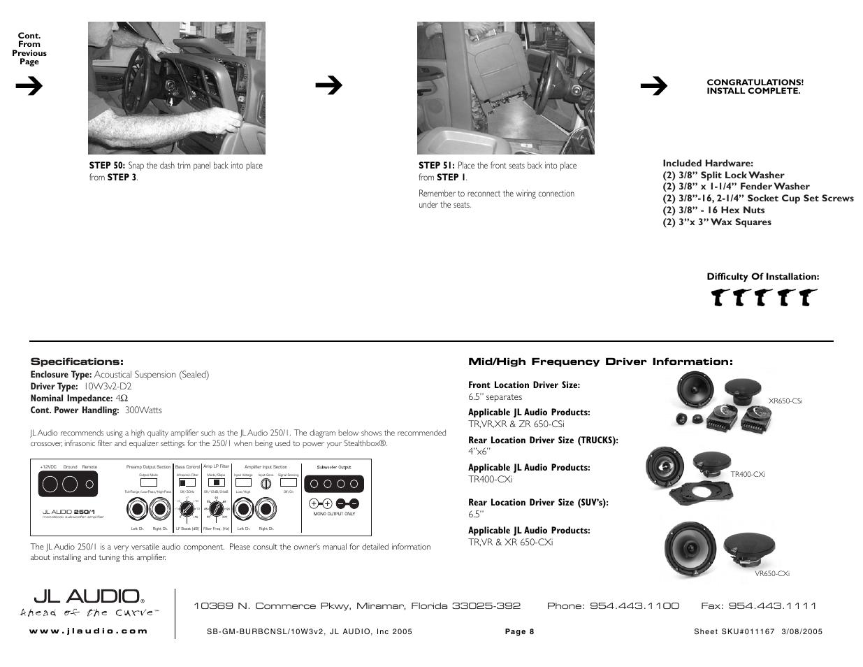 Jl Audio Subwoofer Wiring Diagram