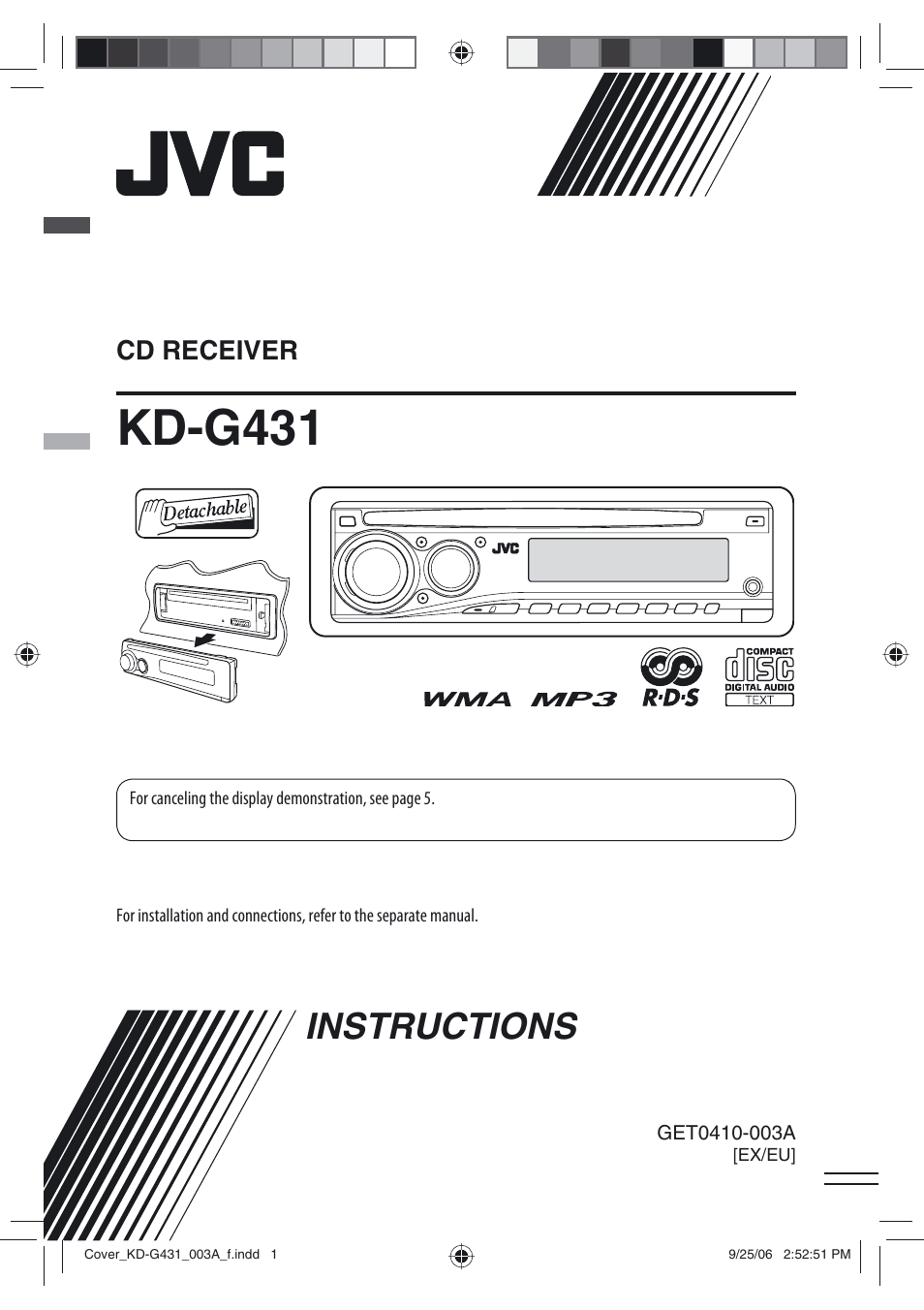 jvc kd g431 page1 jvc kd g431 user manual 28 pages jvc kd g340 wiring diagram at bayanpartner.co