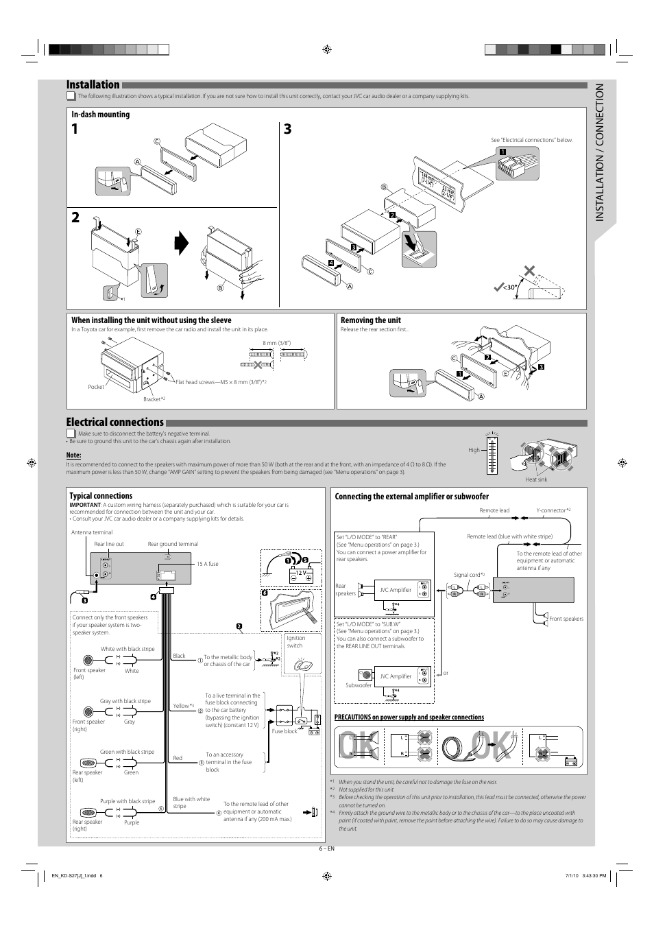 installation electrical connections installation connection rh manualsdir com jvc kw-v230bt installation manual O-Ring Installation Guide
