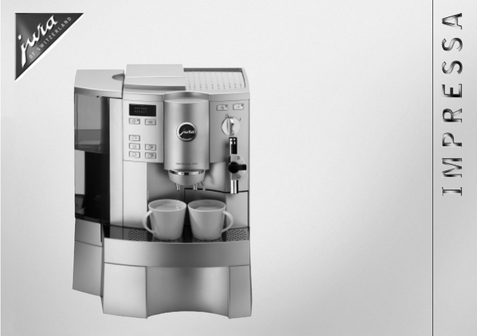 Jura Coffee Maker Manual : Jura Capresso X90/X95 User Manual 22 pages