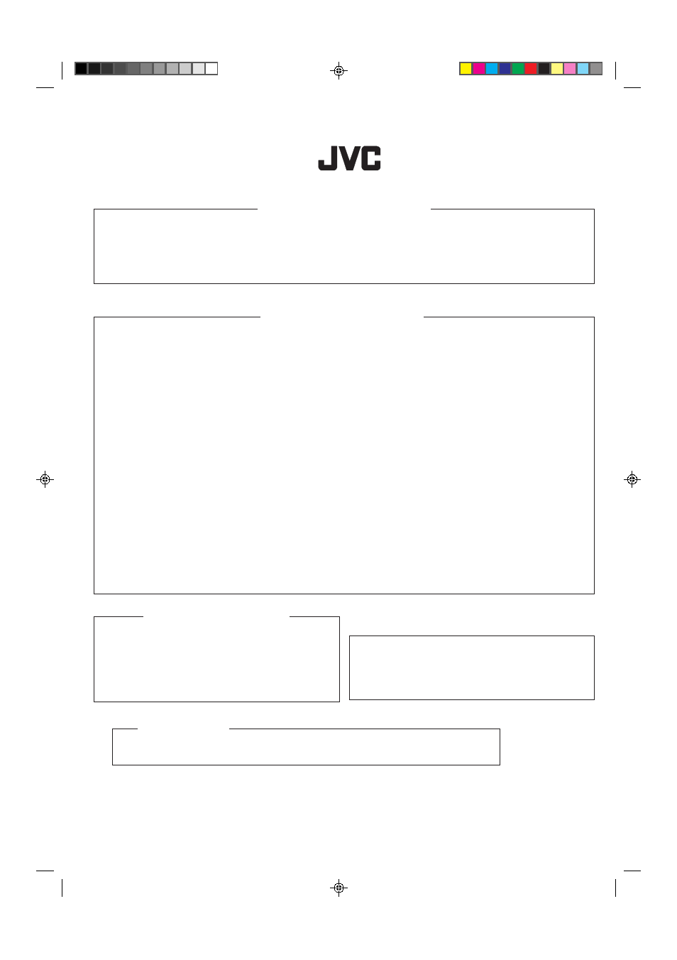 How to locate your jvc service center | JVC RX-6010VBK User Manual | Page