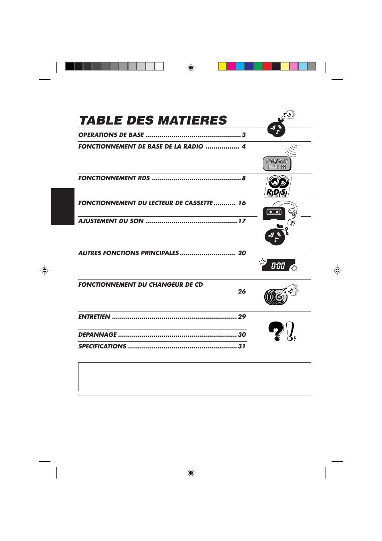 table des matieres jvc ks fx450r user manual page 62 122