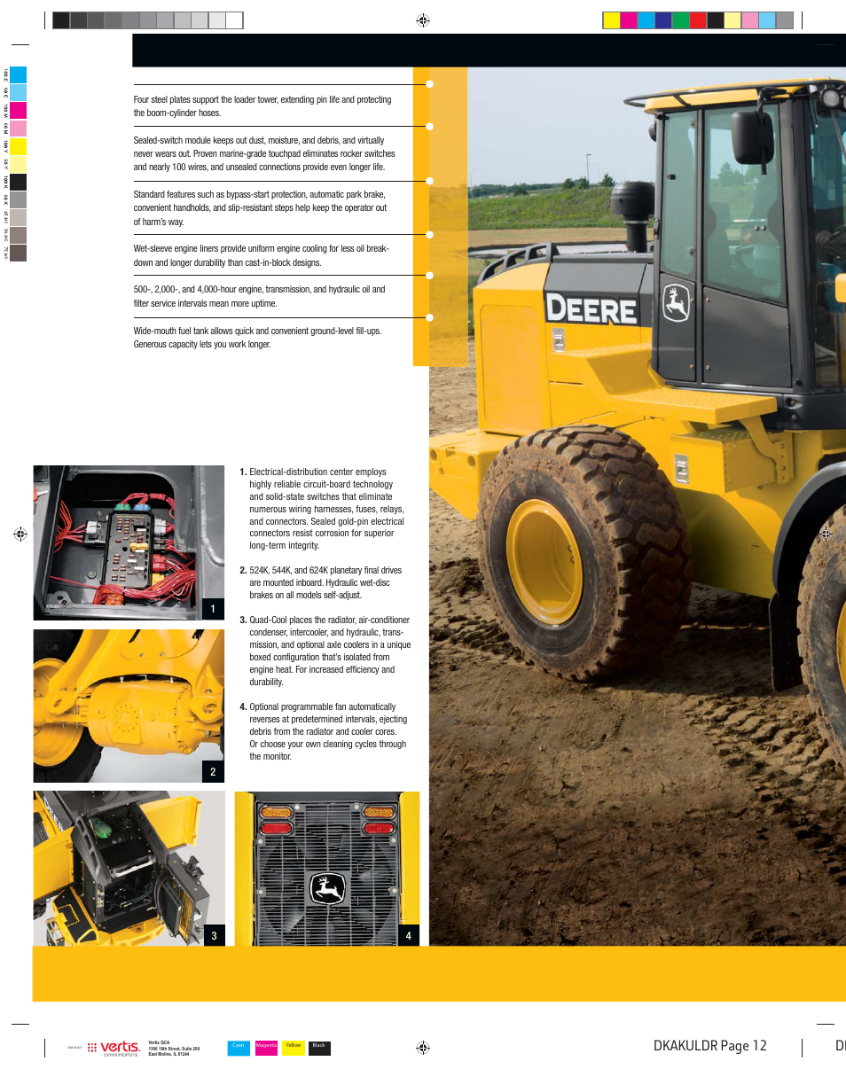 Dkakuldr_012, Dk dkakuldr page 12 | John Deere K LOADERS 444K User Manual |  Page