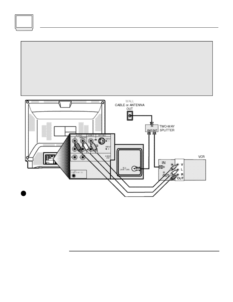 6connections, Cable and vcr connections | JVC AV 32120 User Manual ...