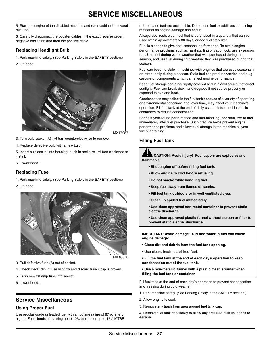 La105 John Deere Manual The Best Deer Of 2018 Wiring Diagram 6 2010 Service Steering And Brakes
