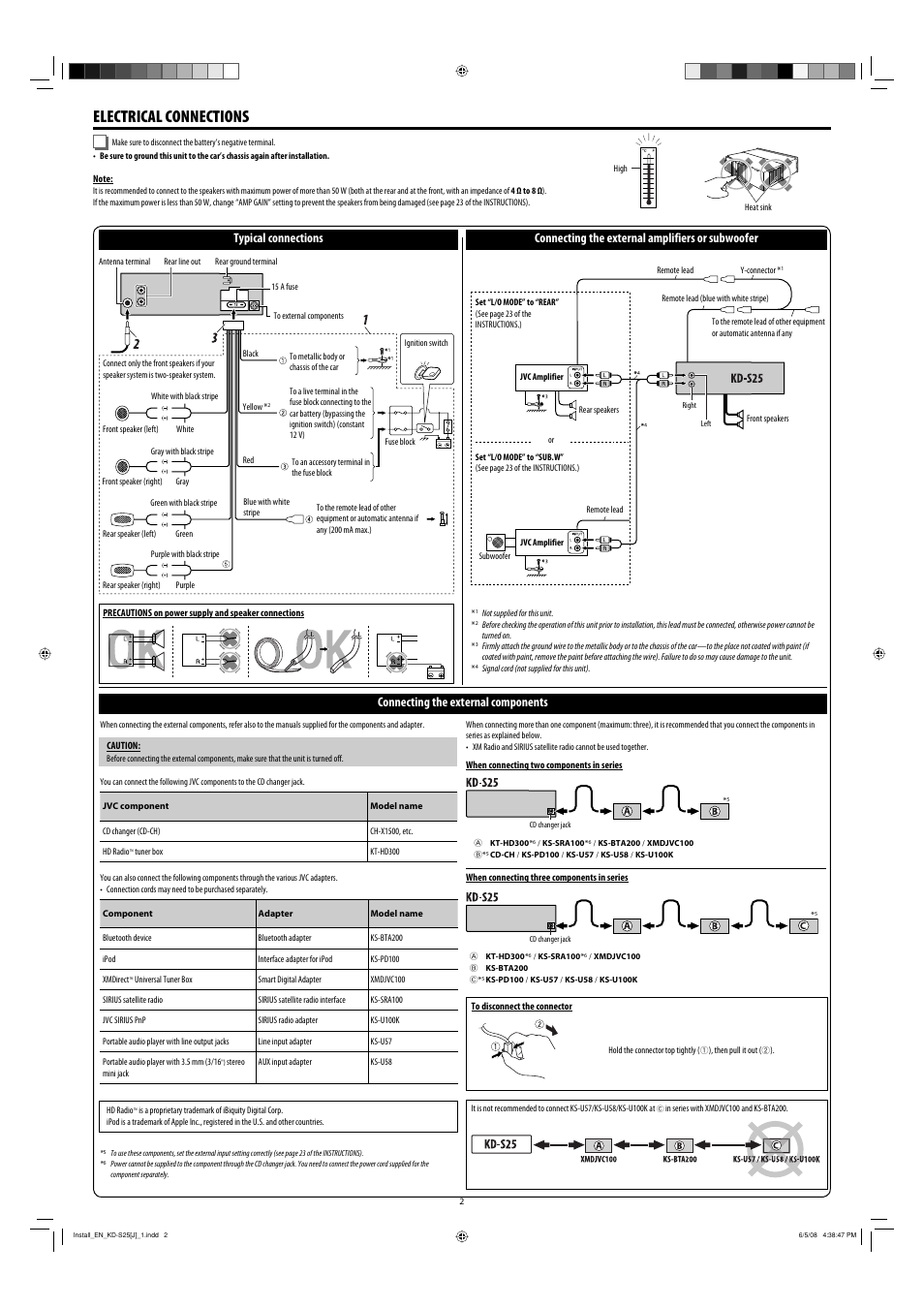 jvc kd s25 page2 jvc kd s25 wiring diagram jvc wiring harness \u2022 edmiracle co jvc kd s25 wiring diagram at bayanpartner.co