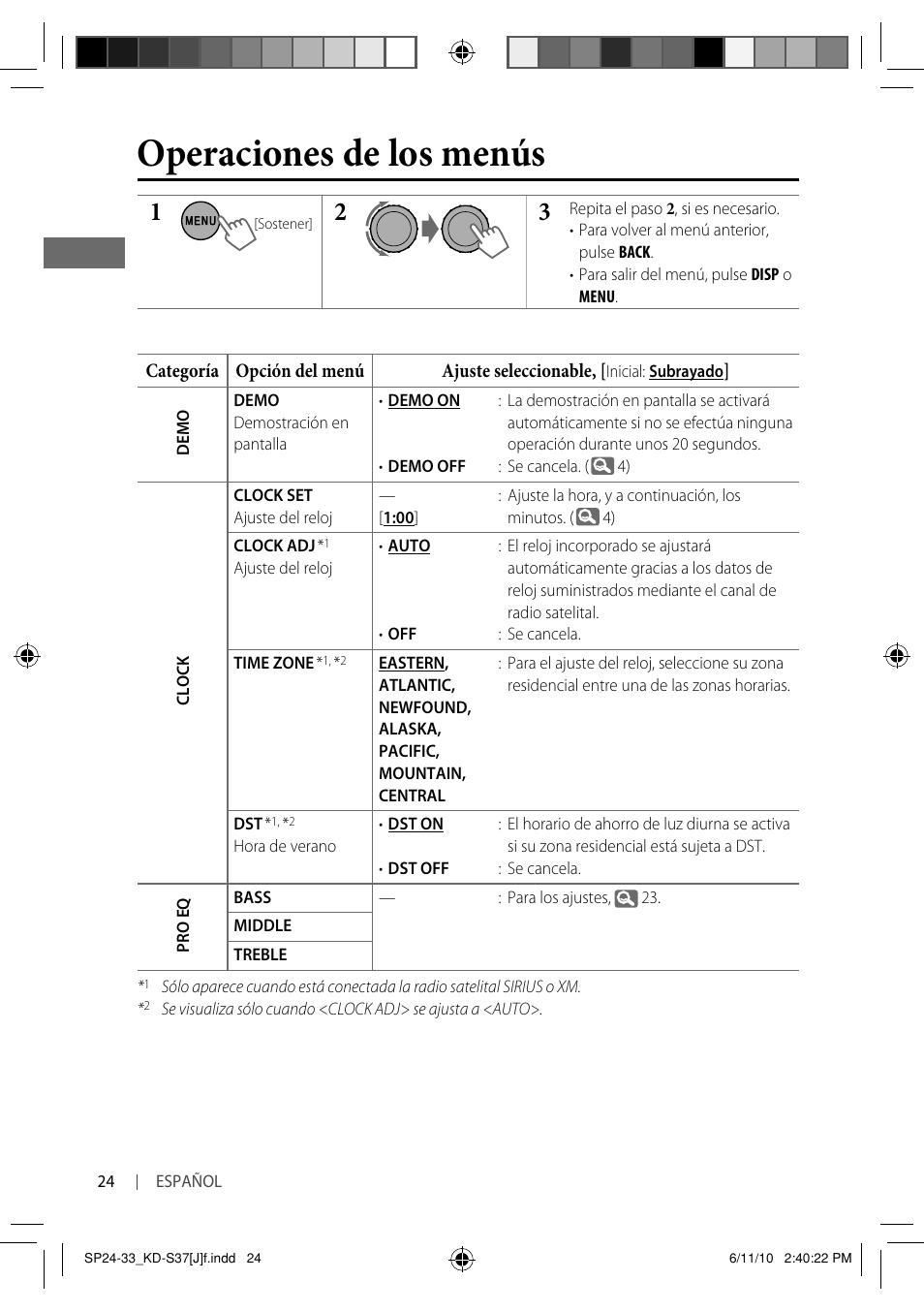 operaciones de los men s jvc kd s37 user manual page 66 87 rh manualsdir com JVC KD- AVX77 JVC DVD Player