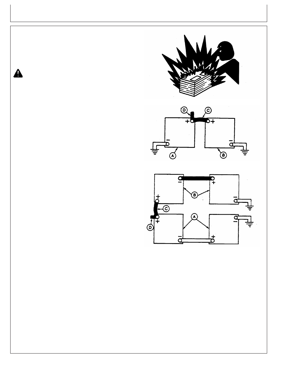 Using A Booster Battery Or Charger John Deere Cd4039df008 User 24 Volt Starter Wiring Diagram Manual Page 40 86