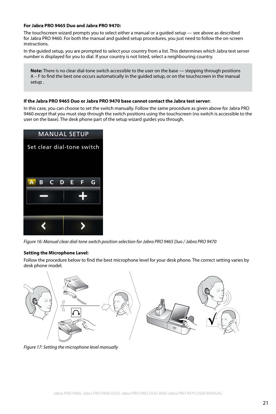 e97a243beaf En g li sh | Jabra PRO 9460 User Manual | Page 21 / 80